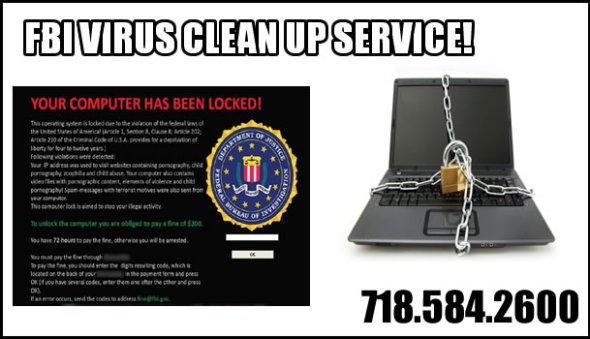 FBI Virus Clean Up Services, Computer Settings, Inc.