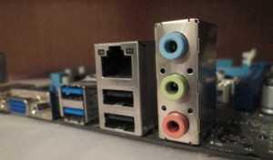 Conectores de tarjeta de sonido integrados