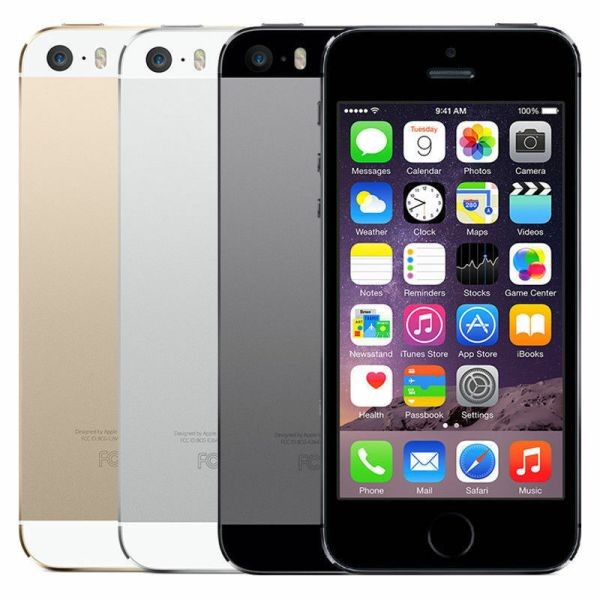 Apple iPhone 5s 16GB Silver GSM Unlocked A1533 5