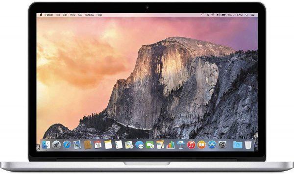 Apple MacBook Pro 15.4′ Quad-Core i7 2.8GHz 16GB 256GB SSD Silver A1707 MPTU2LL/A Refurbished