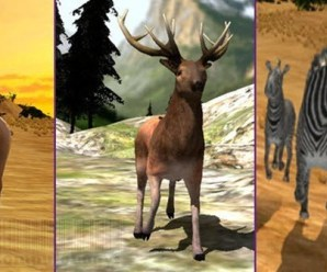3 Simulator Apps Arabian Horse, Deer and Zebra Family Free for iPhone iPad for Limited Time