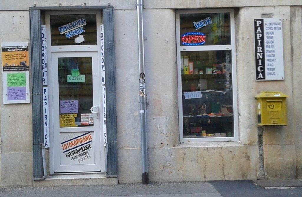 computer centar knjižara tina service point