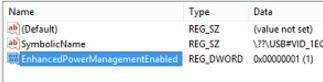 EnhancedPowerManagementEnabled
