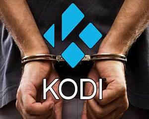Kodi Logo with handcuffs