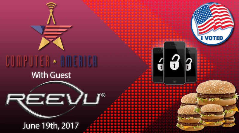 Reevu Worldwide Interview, Burger-Bots Incoming, Voter Database Hacked