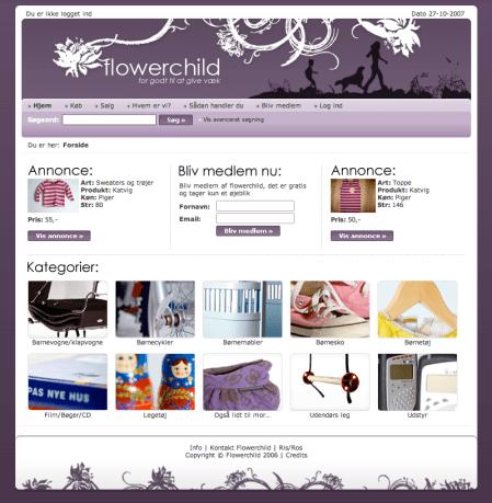 flowerchild website