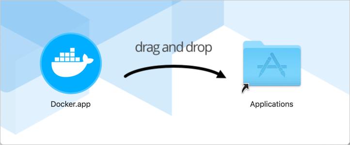 Docker app dragging