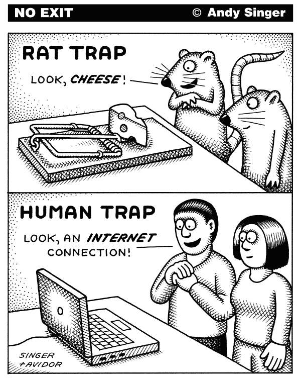 people falling into technology traps when buying a computer