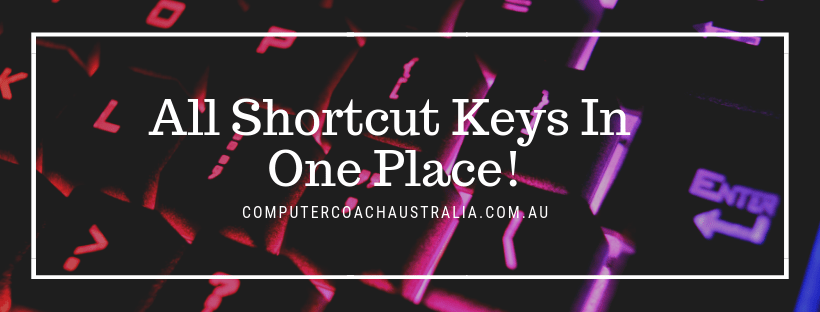 short cut keys