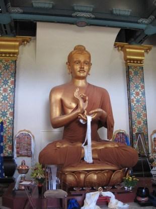 Inside the Great Stupa