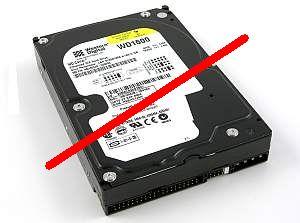 No IDE hard-drives