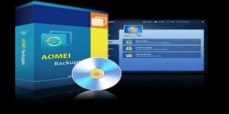 برنامج AOMEI Backupper Standard