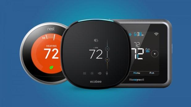 منظمات الحرارة الذكية - Smart thermostats