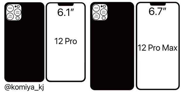 التصميم الجديد لأجهزة الآيفون