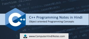 Object Oriented Concepts in Hindi