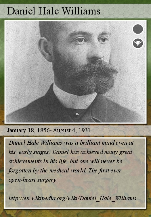 Daniel Hale Williams Famous Quotes