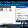 How To Make Silent Software By Syed Talha Zameer