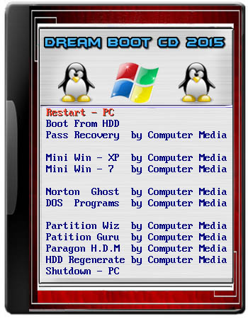 Dream Boot CD 2015 Covers