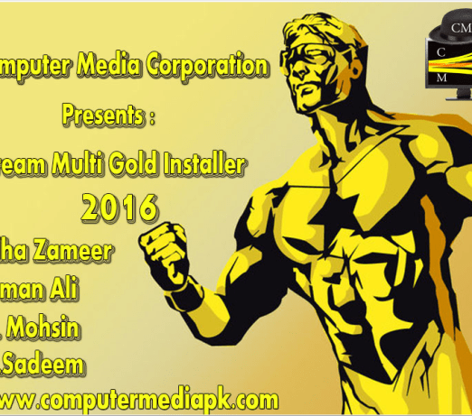 Dream Multi Gold Installer 2015 By C.M Team