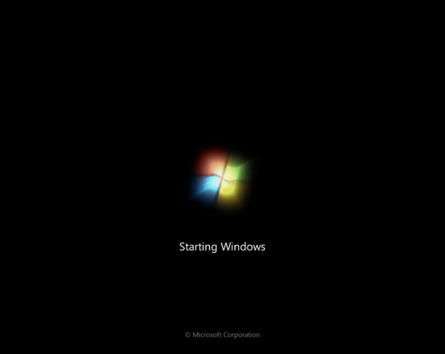 Windows 7 Lite Boot Sceen