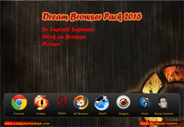 Dream Browser Pack 2016 By Computer Media