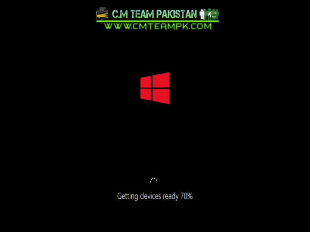 Windows 8 Red Edition Lite 2017 Drivers Screen By CMTEAMPK