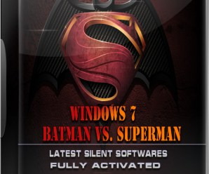 Windows 7 Batman Vs Superman Lite Version By Computer Media Team