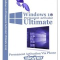Windows 10 Permanent Activator Ultimate 1.8
