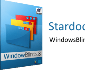 Stardock Windowblinds 10.80 + Patch !