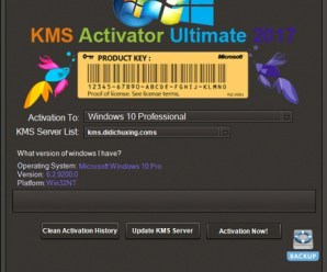 Windows KMS Activator Ultimate 2017 3.6 Free Download!