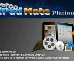 ImTOO iPad Mate Platinum 5.7.16 Build 20170109 With Crack