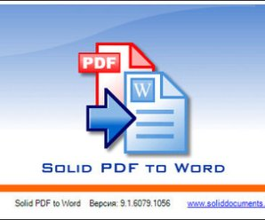 Solid PDF to Word 9.2.7478.2128 With Crack