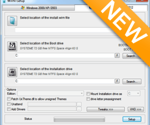 WinNTSetup 3.8.7.3 Final Portable (x86/x64) {Latest}