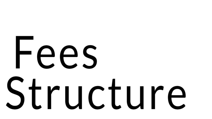 Courses Fees Structure