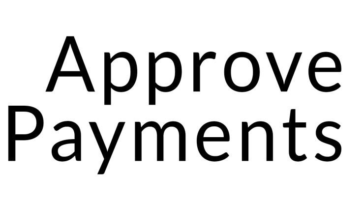 Approve Payment Complete Detail