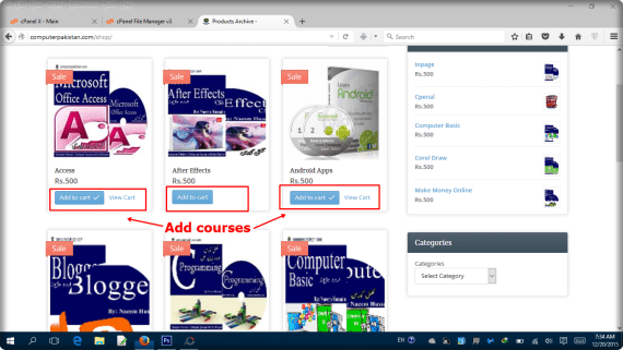 Step 2 Add Video Courses Buy a DVD