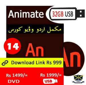 Flash Animate Video course in Urdu in Pakistan