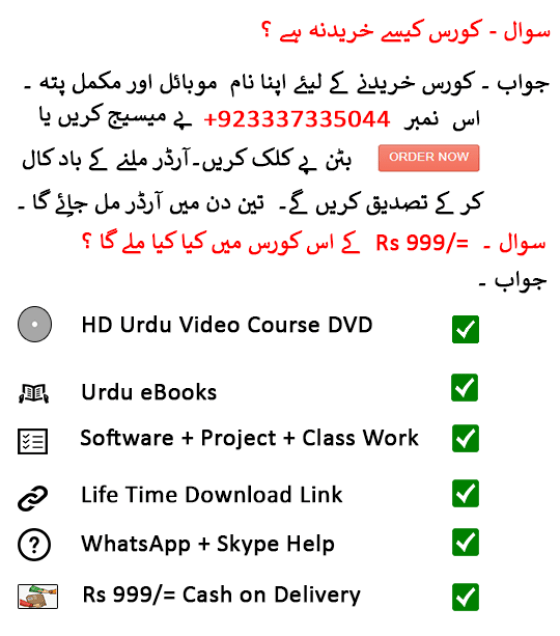 Computer Basic Learning in Urdu for beginners - ComputerPakistan