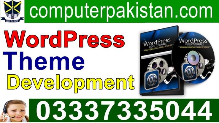 WordPress Theme Development in Urdu