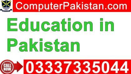 Scope of Online Education in Pakistan
