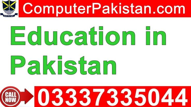 Scope of Online Education in Pakistan