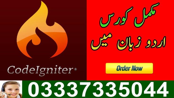 CodeIgniter Video Tutorial in Urdu Free Download
