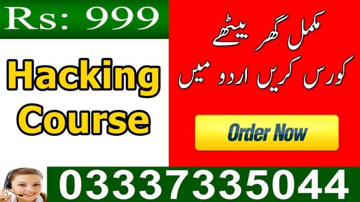 Ethical Hacking course online Training in Urdu in Pakistan for beginners