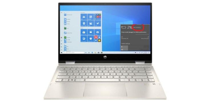 Laptop not charging repair service near Denton