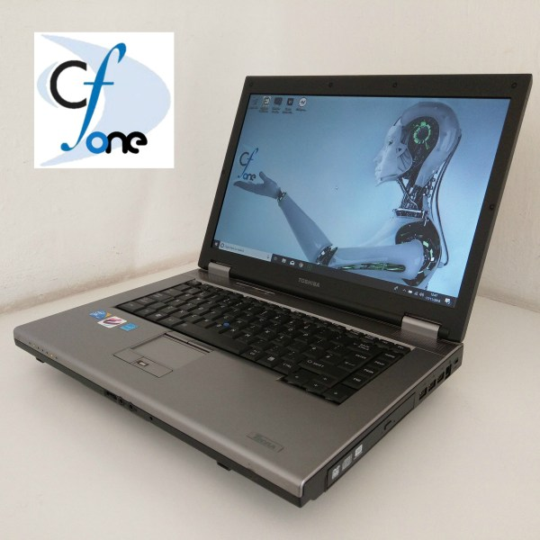 Used Refurbished Toshiba 15.4 inch Laptop Comuter For Sale