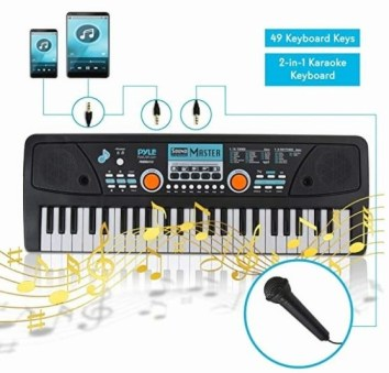 Digital Electronic Musical Keyboard