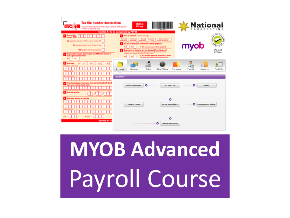 MYOB AccountRight Payroll Administration Certificate Training Course