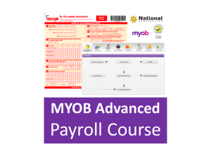 MYOB AccountRight Advanced Accounting Payroll Training Courses - Industry Accredited, Employer Endorsed - CTO