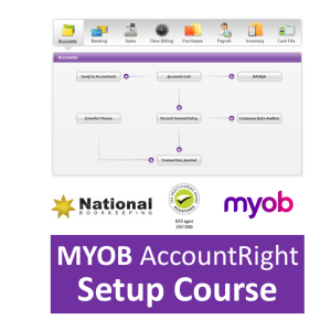 MYOB AccountRight Setup Accounting Training Courses - Industry Accredited, Employer Endorsed - CTO