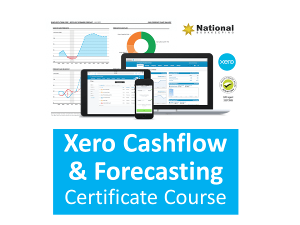 Xero Advanced Accounting Training Course Cashflow Management & Forecasting - Industry Accredited, Employer Endorsed - CTO